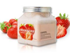 Скраб для тела с Клубникой Pretty Cowry Strawberry Sherbet Body Scrub (8130), 350 ml